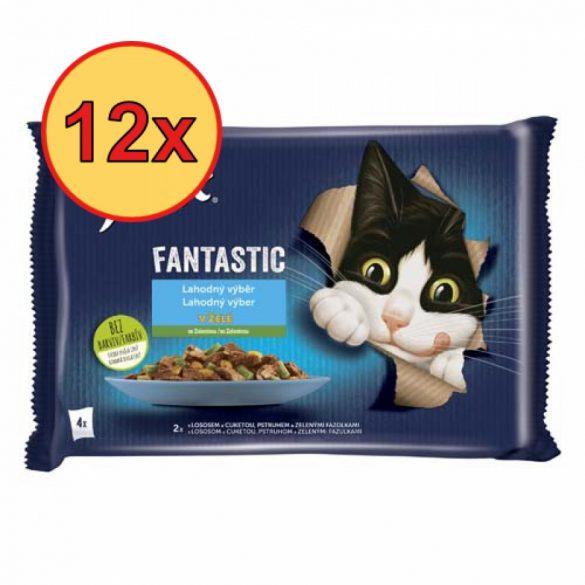 12x Félix 4x85g Fantastic Hal + Zöldség  Alutasak 973