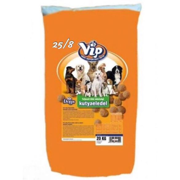 Vip Dog Menü 25/8 20kg