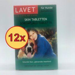 12x LAVET Bőrtápláló tabl. kutyának