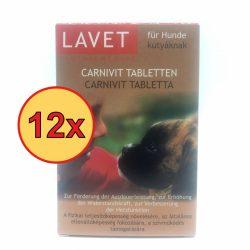 12x LAVET Carnivit tabl.kutyának