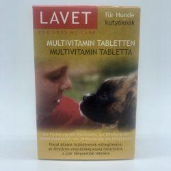 LAVET Multivitamin tabl. kutyának 50db
