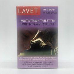 LAVET Multivitamin tabl. macskának 50db