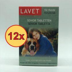 12x LAVET Senior tabl.kutyának