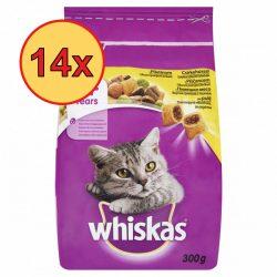 14x Whiskas 300g Csirkés Száraz macskaeledel-klón