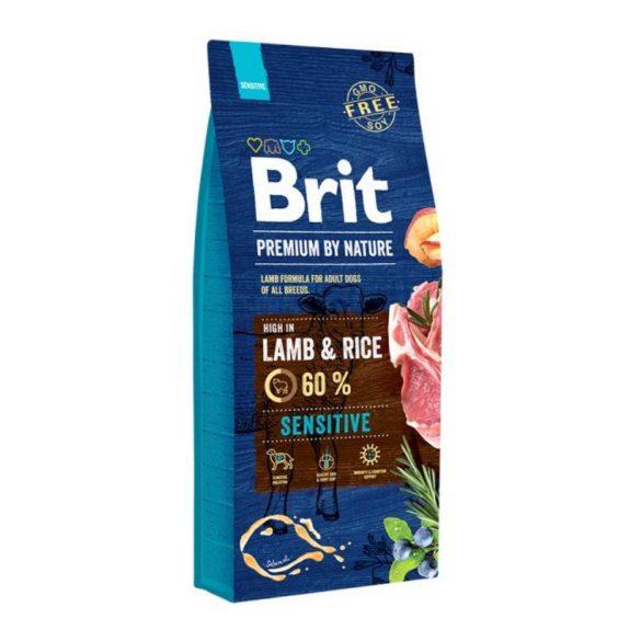 Brit Prémium Adult Lamb&Rice Sensitive 15kg