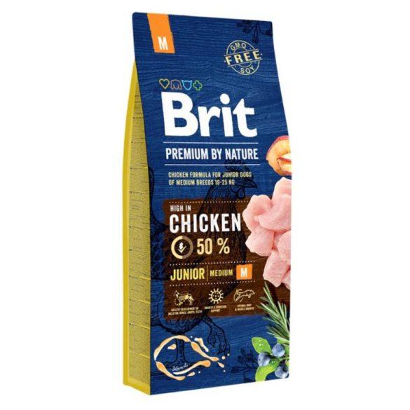 Brit Prémium Junior Médium 15kg
