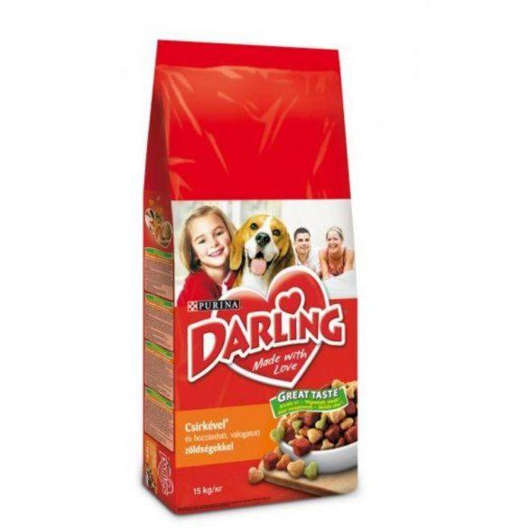 Darling 15kg Csirke +  Zöldség