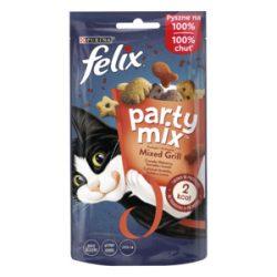 Félix Party Mix 60g Grill Marha + Csirke + Lazac