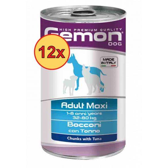 12x Gemon Dog Maxi Hal 1250g
